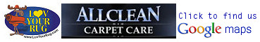 AllClean Carpet Care and Luv Your Rug