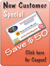 New customer special - Save $50